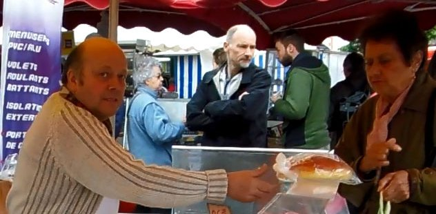 jean-marc bonnin selling brioche at the market
